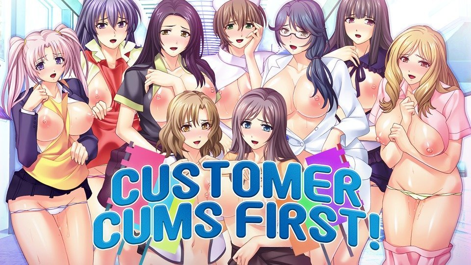 Customer Cums First! Poster