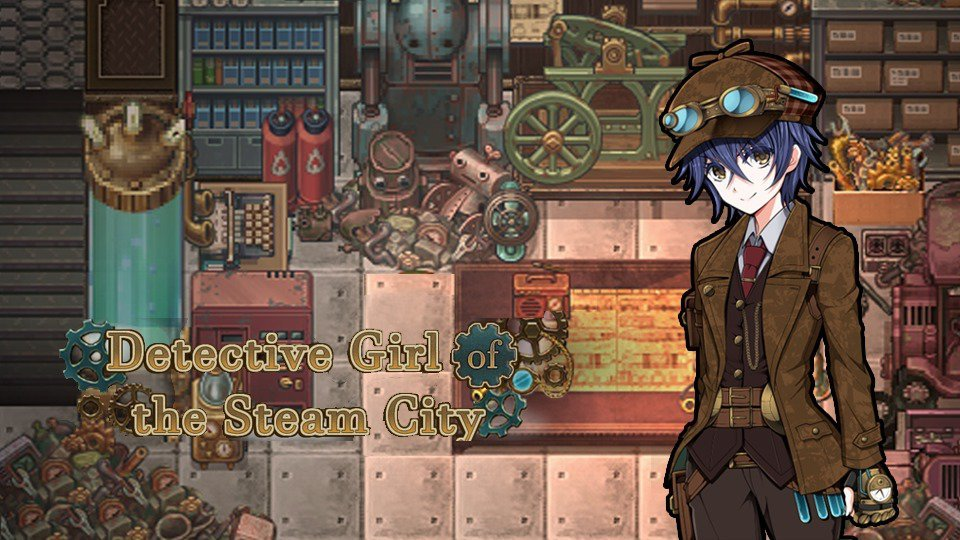 Detective Girl of the Steam City Cover