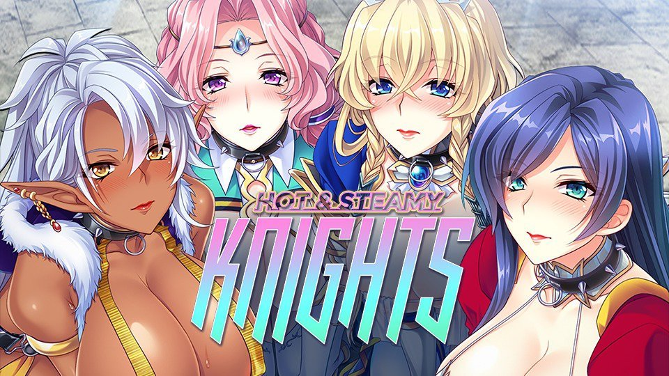 Hot & Steamy Knights Poster
