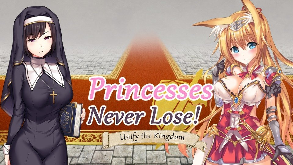 Princesses Never Lose! Poster
