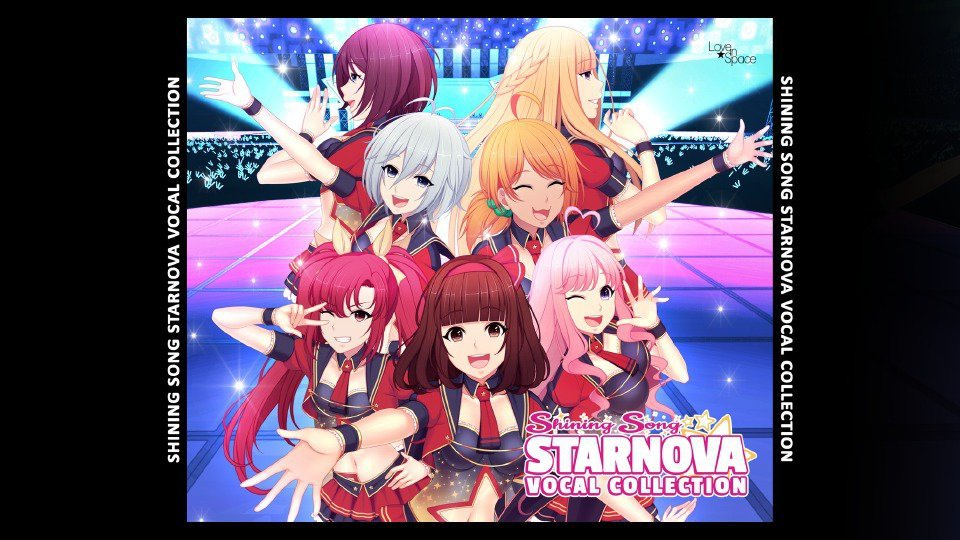 Shining Song Starnova - Vocal Collection Cover