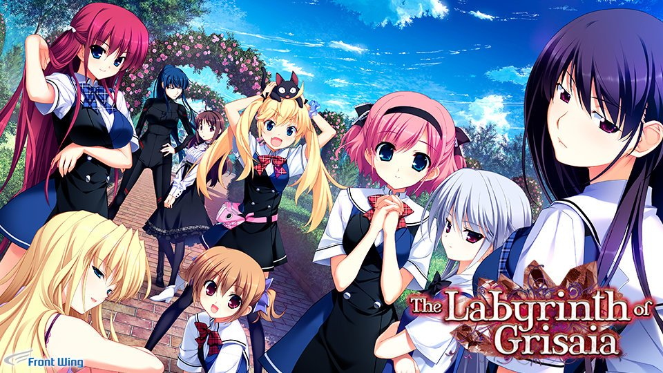 The Labyrinth of Grisaia Poster