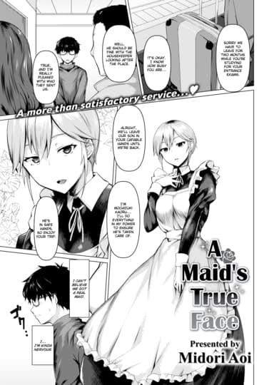 A Maid's True Face Cover