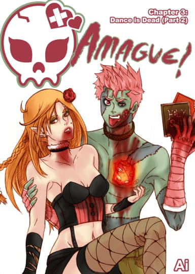 "Amague! Chapter 3 ""Dance is Dead"" Part 2 Cover"