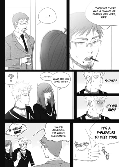 "Amague! Chapter 8 ""Dance is Dead"" Part 7 Sample"