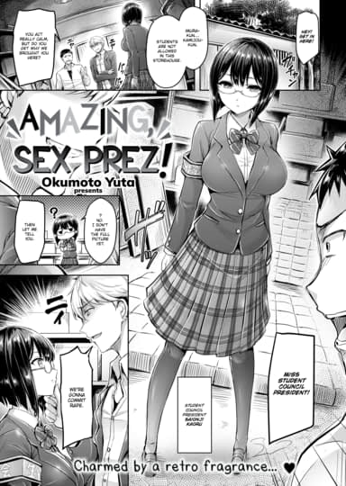 Amazing, Sex Prez! Cover