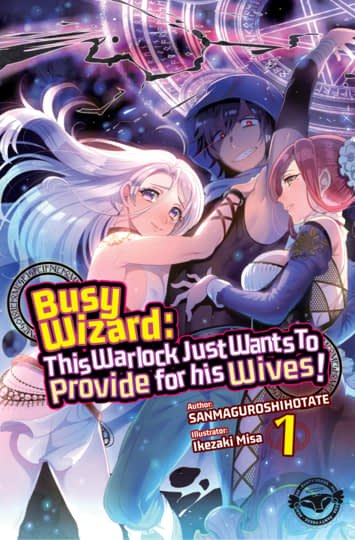 Busy Wizard: This Warlock Just Wants to Provide for his Wives! Cover