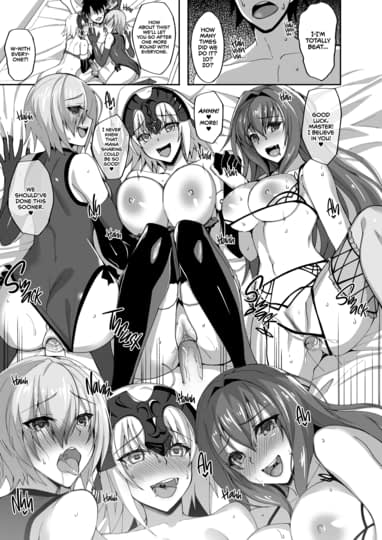 Chaldea Servant Harem Life With Master Sample