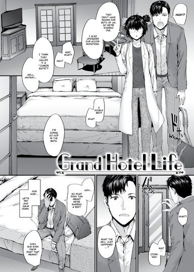 Grand Hotel Life Cover