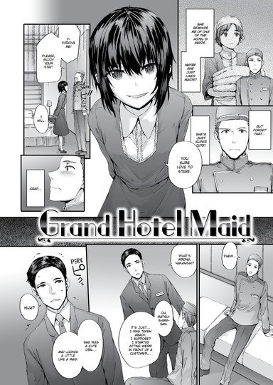 Grand Hotel Maid Cover