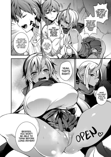 Mating with Oni Sisters Sample