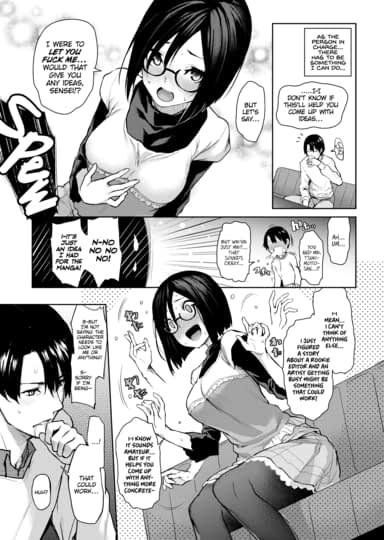 Newbie Editor Tsukimoto-san Thumbnail 5