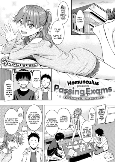 Passing Exams Cover