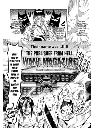 Publisher from Hell, Wani Magazine Cover