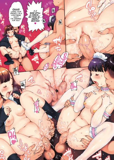 Runaway Girls' Nest ~Offline Orgy Winners~ Sharing Ritual Sample