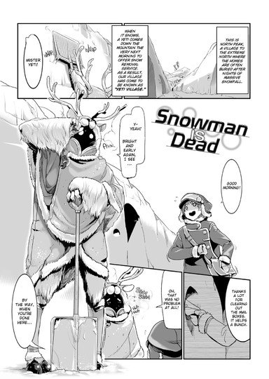 Snowman is Dead Cover