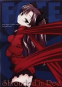 Shrouded in Red Cover