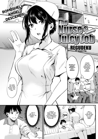 The Nurse's Juicy Job Cover