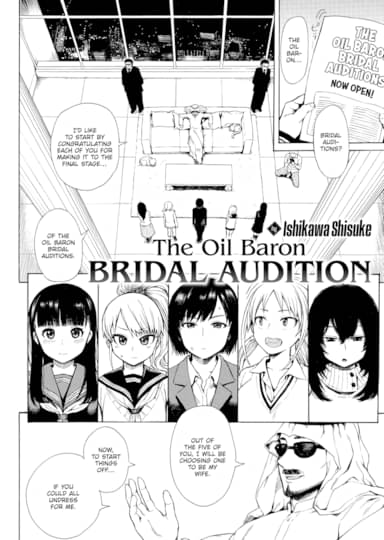 The Oil Baron Bridal Audition Cover
