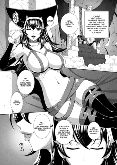 The School Nurse Is a Sex-Crazed Succubus Ch.2
