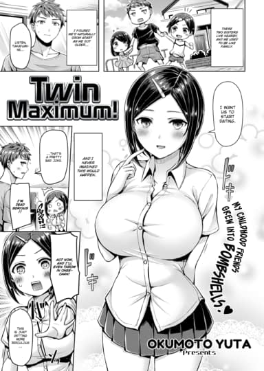 Twin Maximum! Cover