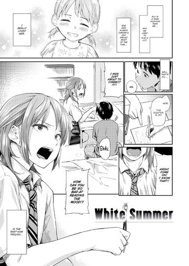 White Summer Cover