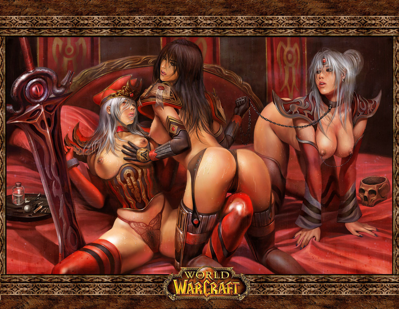 World of warcraft hentai wallpaper nude pic